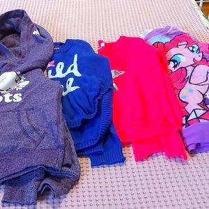 Sweatshirts for girl's.